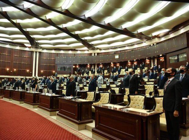 Milli Məclisdə Ali Baş Komandan İlham Əliyevin təltif olunması təklif edildi
