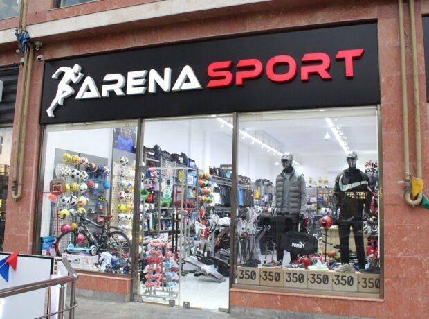 Arena Sport İdman Malları Mağazası xidmətinizdədir – FOTO